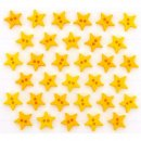Micro Mini Stars Yellow