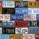 Route 66 License Plates
