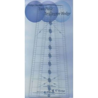 2 Piece Ten Degree Ruler
